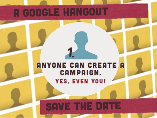 Google Hangout RavelUnravel Campaign 2